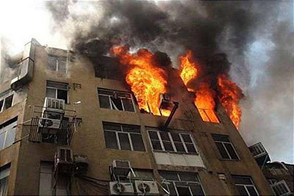 باشگاه خبرنگاران - آتش سوزی منزل مسکونی در خرم آباد