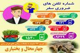 باشگاه خبرنگاران -شماره تلفنهای ضروری برای مسافران نوروزی