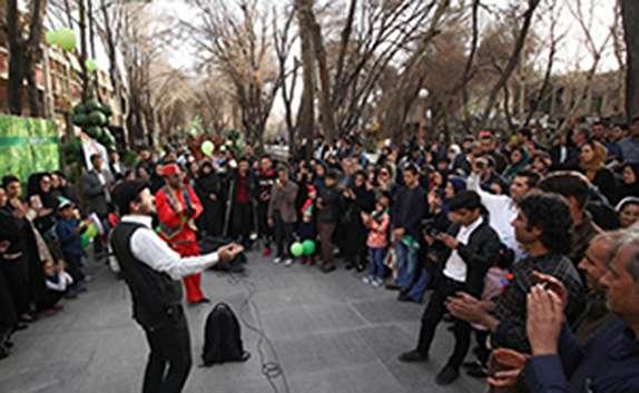 باشگاه خبرنگاران - گذر فرهنگی چهارباغ این بار میزبان میهمانان نوروزی
