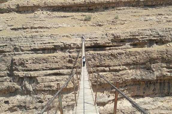 باشگاه خبرنگاران - فیلمی دیدنی از بلندترین پل معلق خاورمیانه