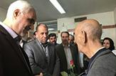 باشگاه خبرنگاران - عیادت استاندار اصفهان از سالمندان آسایشگاه خیریه صادقیه