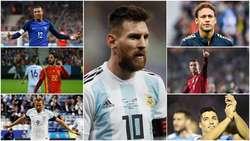 ۳۲ ستاره احتمالی جام جهانی ۲۰۱۸ روسیه+عکس