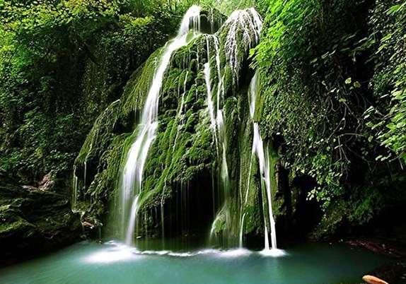 باشگاه خبرنگاران - آبشارهای کبود در دل علی آبادکتول