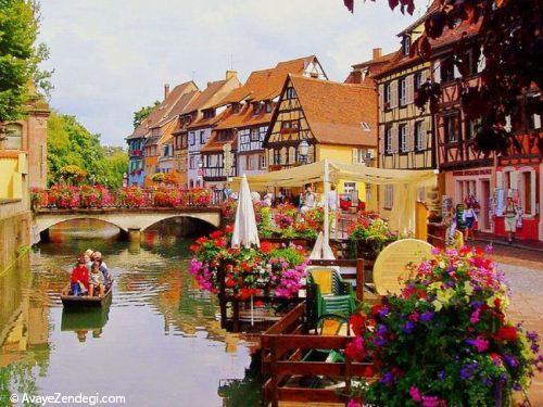 زیباترین و شگفت انگیزترین روستای اروپا را بشناسید+تصاویر