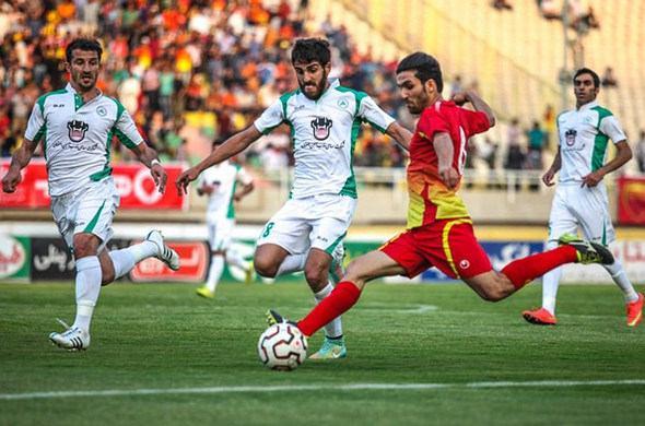بازی تشریفاتی قهرمان لیگ برتر در ورزشگاه آزادی