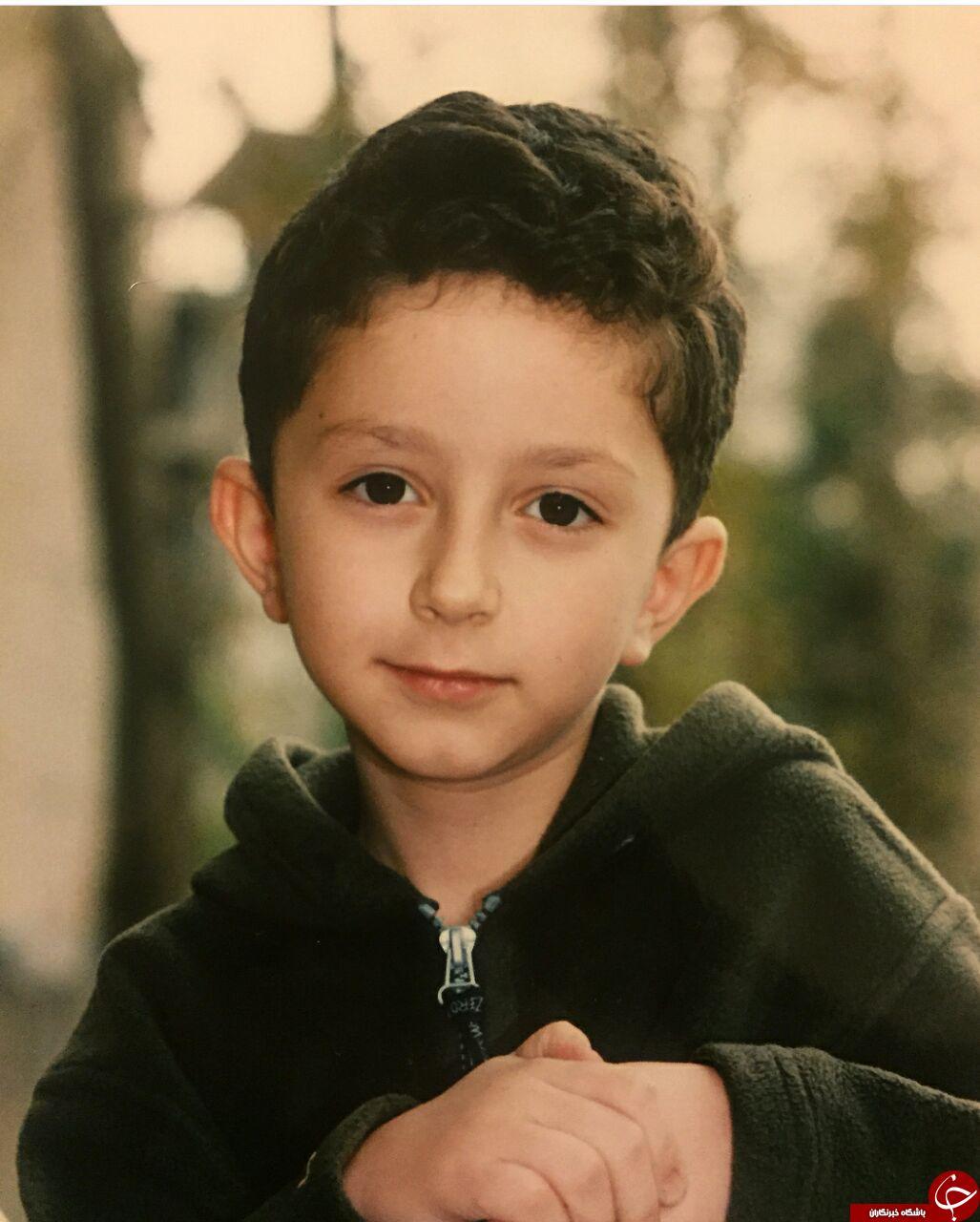 تصویر کمتر دیده شده از کودکی شهید محمد حسین حدادیان