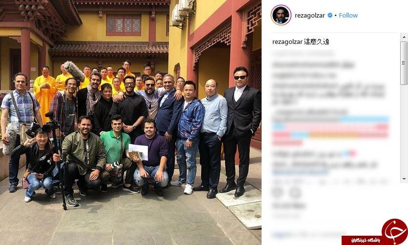 ژستهای ستاره سینما در شانگهای+عکس