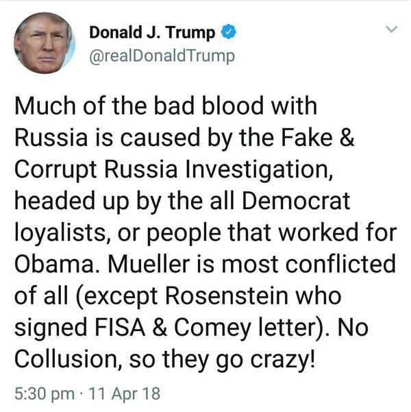 عقب نشینی ترامپ از لحن تهدیدآمیز خود علیه روسیه
