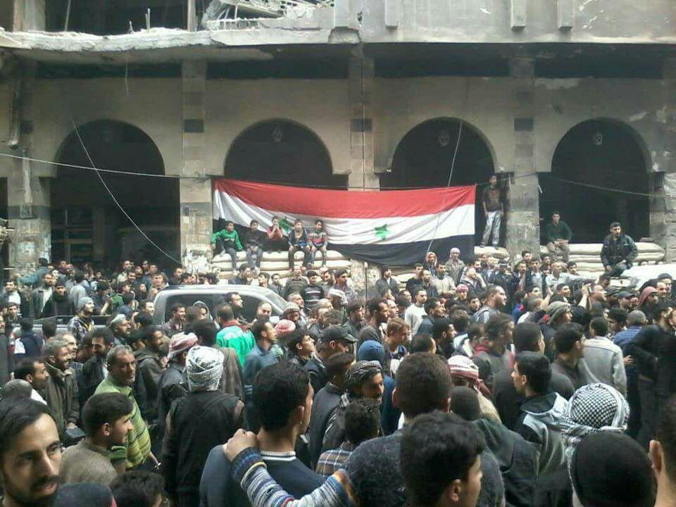 غوطه شرقی دمشق به طور کامل آزاد شد