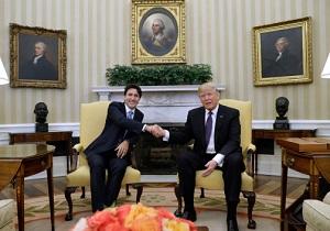 پشت کردن نخستوزیر کانادا به ترامپ