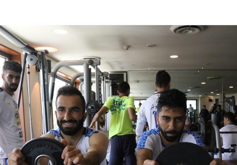 اولین تمرین تیم استقلال در کویت