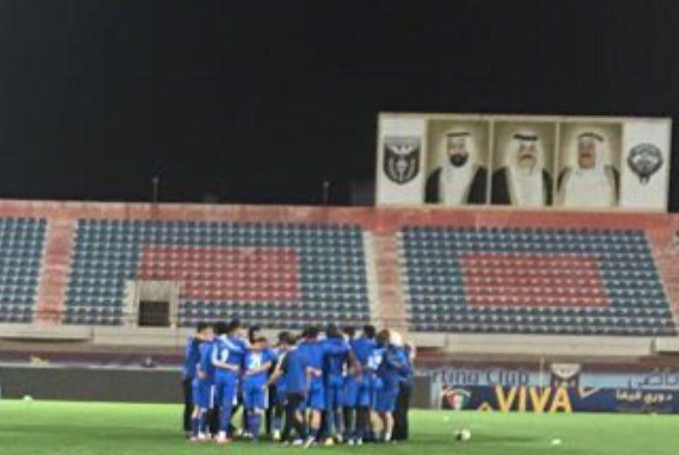 دومین تمرین استقلالى ها در کویت  + تصاویر