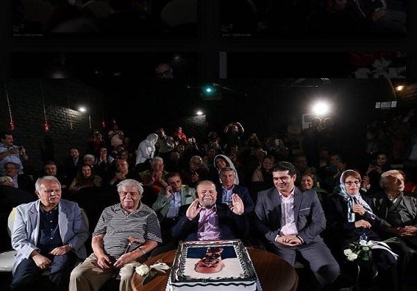 محمدعلی کشاورز 88 ساله شد/ نامگذاری یک سالن به نام بازیگر «پدر سالار»