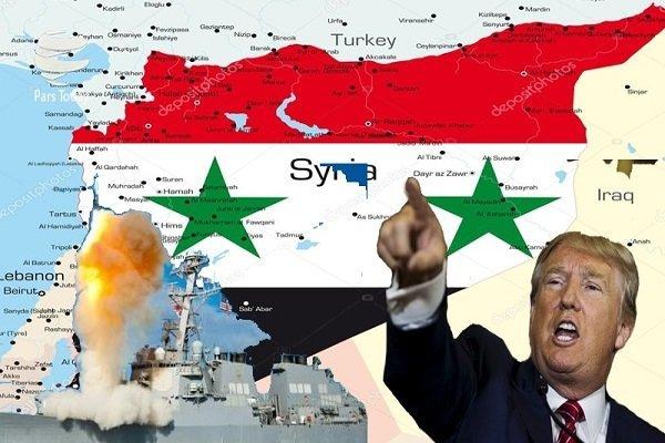 تجاوز «مثلث شرارت» به سوریه؛ موشکهای هوشمند به سخره گرفته شدند