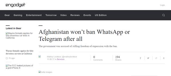 اثرات مخربی که تلگرام بر برخی کشورها داشت/ کدام کشورها تلگرام را فیلتر کردند