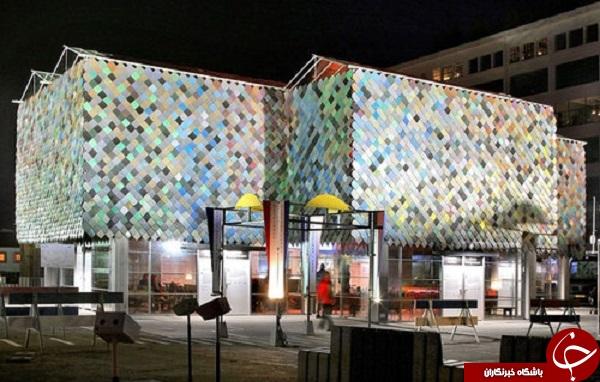 ساختمانی از زباله که در هلند احداث میشود (+عکس)