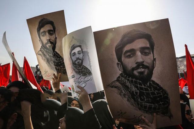 تندیس شهید حججی در بزرگراه نواب نصب می شود