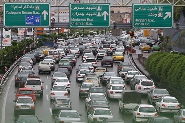 باران تهران را شست و خیابانها را قفل کرد