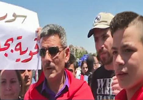 تجمع سوریه در دفاع از استقلال این کشور + فیلم