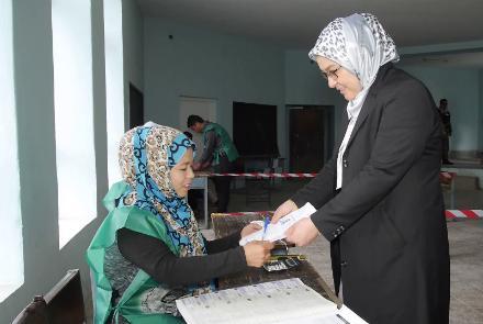 مشارکت کمرنگ مردم در روند ثبت نام رای دهندگان انتخابات