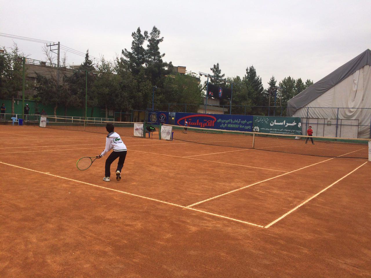 برگزاری مرحله اول مسابقات تنیس مناطق پنجگانه کشور به میزبانی مشهد