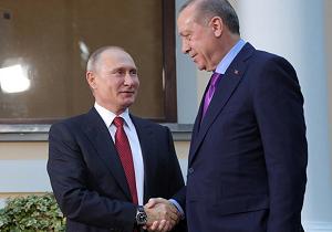 مقامات آنکارا و مسکو اظهارات مکرون را درباره ایجاد شکاف در روابط روسیه و ترکیه رد کردند