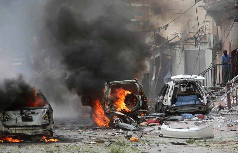 انفجار ۲ خودرو بمب گذاری شده در شهر دوما در غوطه شرقی دمشق