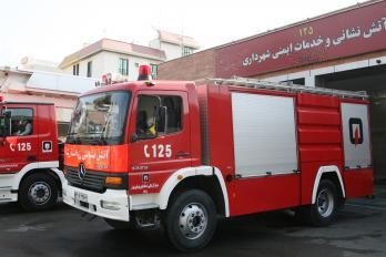 انجام 11 عملیات توسط آتشنشانان همدان