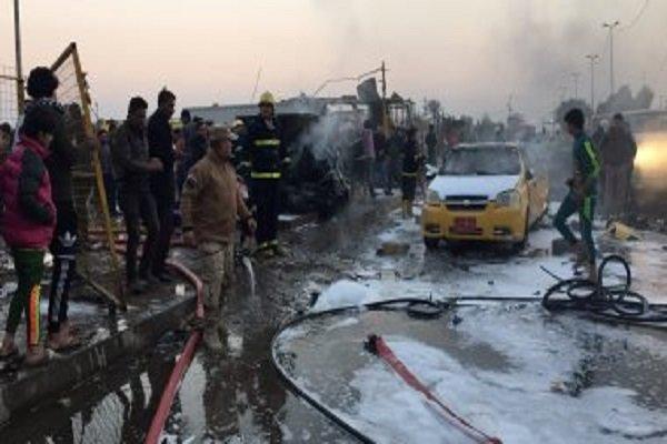 عملیات انتحاری بقایای داعش در جنوب سامراء
