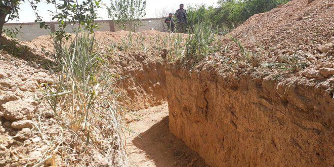 تونلهای زیرزمینی تروریستها در سوریه
