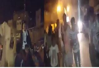 صحنه تکاندهنده برخورد گلوله با سر میهمان در عروسی+فیلم
