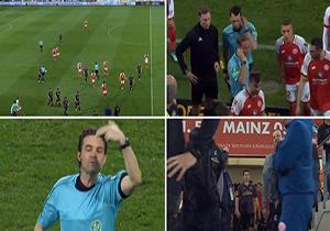 عجیبترین اتفاق در دنیای داوری فوتبال/ اعلام پنالتی در بین دو نیمه! + فیلم