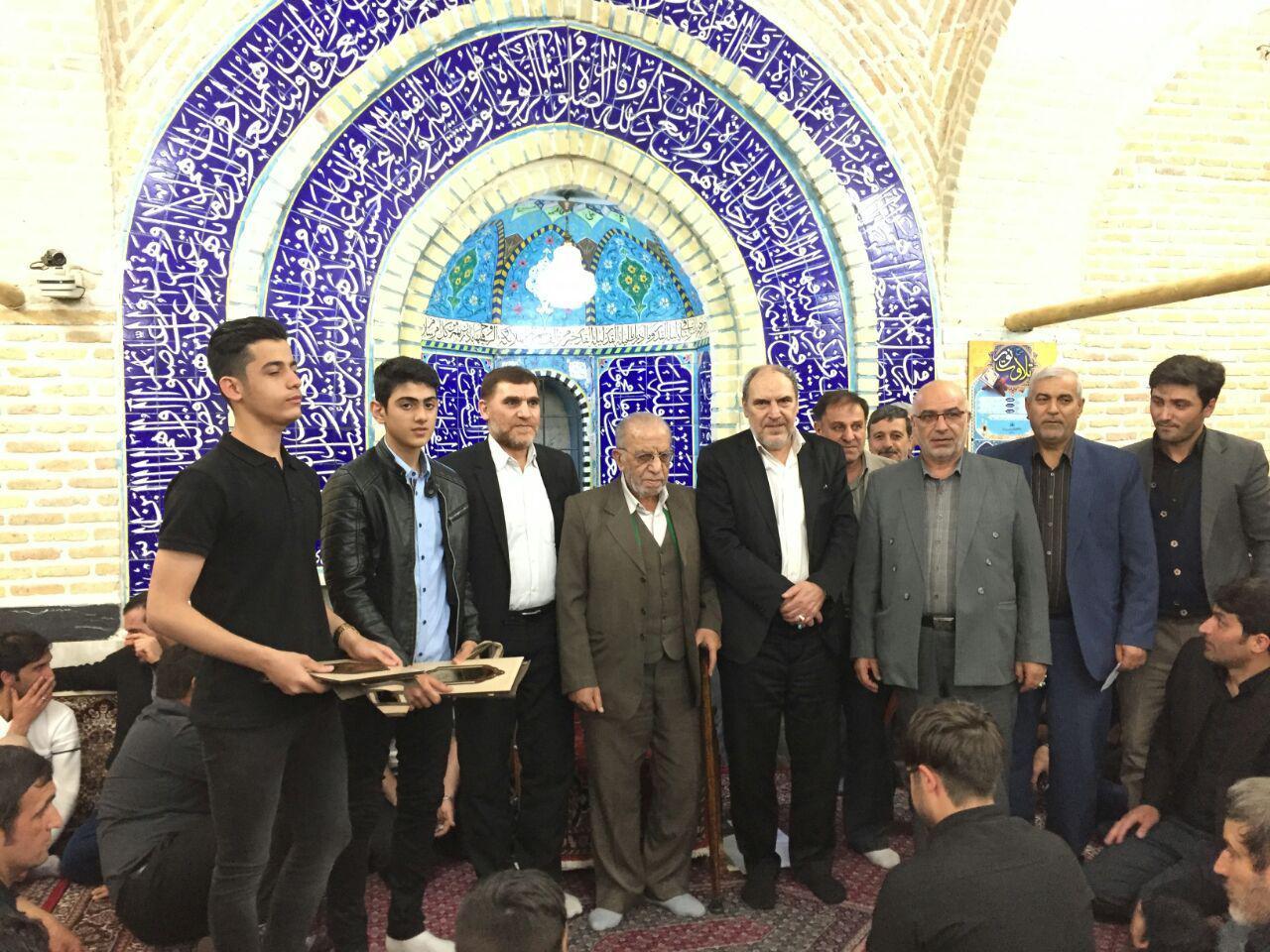 تجلیل از تکواندوکاران زنجانی