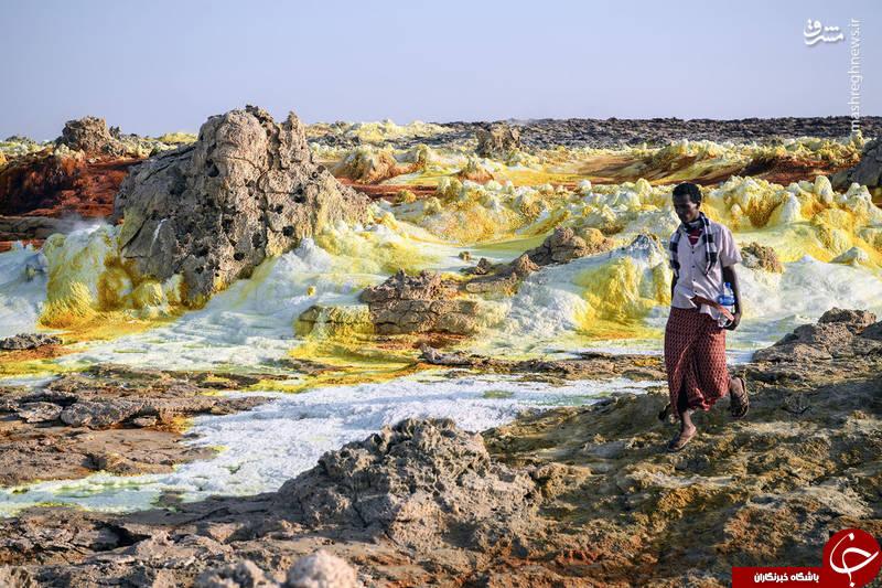 تصاویر زیبا از صحرای اتیوپی