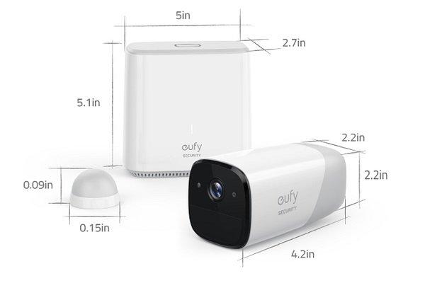 تولید دوربین هوشمند امنیتی با عمر باتری یک ساله