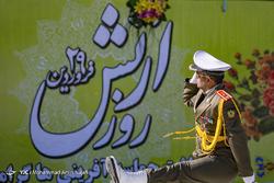 مراسم رژه روز ارتش - همدان