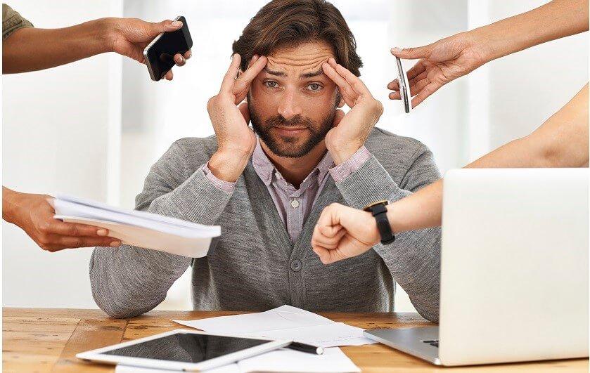 چگونه بر استرس در محیط کار غلبه کنیم؟