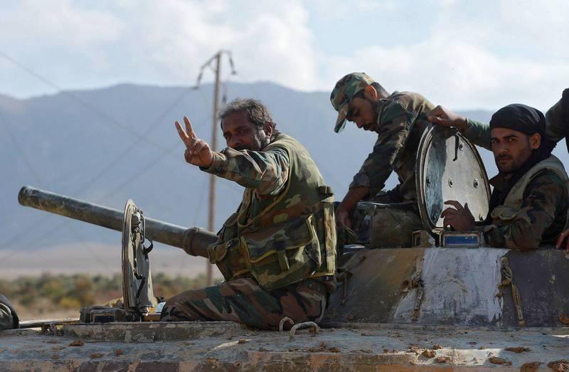 از تسلیم شدن تروریست ها برای خروج از «الضمیر» تا رسیدن موج پیروزی ارتش سوریه به دروازه شمالی دمشق+تصاویر