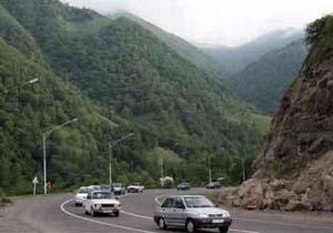 لغو موقت محدودیت ترافیکی جاده هراز /یکطرفه شدن جاده کرج- چالوس