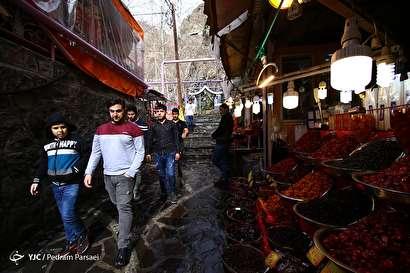 باشگاه خبرنگاران -تهران بهاری - دربند