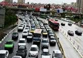 آخرین وضعیت ترافیکی معابر تهران در روز پنجشنبه