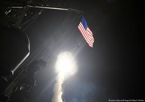 سوریه دو موشک کروز منفجر نشده از حمله موشکی اخیر آمریکا را به روسیه تحویل داد