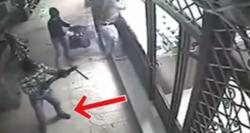 ویدئویی که گفته میشود لحظه سرقت مسلحانه بهمن ورمزیار است +فیلم