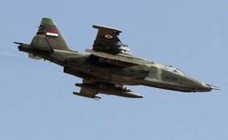 جنگندههای عراقی مواضع داعش در خاک سوریه را هدف قرار دادند