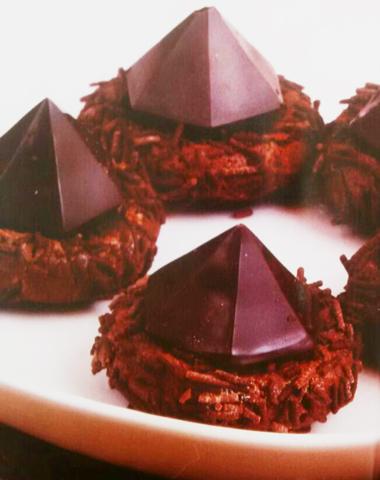 شیرینیهایی به شکل اهرام ثلاثه!