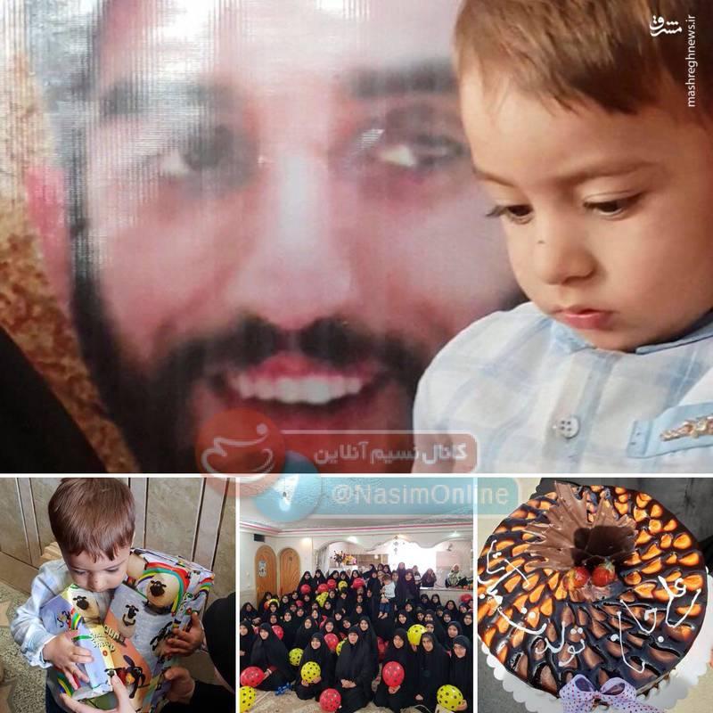 جشن تولد فرزند «شهید محسنحججی»+عکس