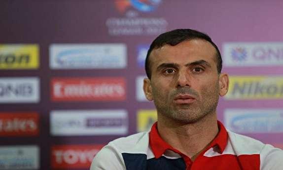 حسینی: با فوتبالیست 28 ساله فرقی ندارم/امیدوارم در جام جهانی نتایج خوبی بگیریم
