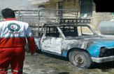 باشگاه خبرنگاران - آتش سوزی نیسان در روستای ارته بازفت