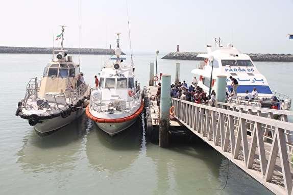 باشگاه خبرنگاران - خدمت رسانی  ۶۳ شناور مسافری به گردشگران