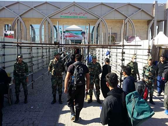 باشگاه خبرنگاران -تردد 115 هزار زائر از مرز مهران در ایام نوروز